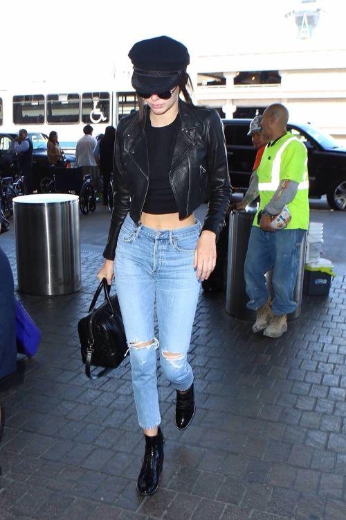 street style Kendall Jenner 2016, уличный стиль Кендалл Дженнер 2016