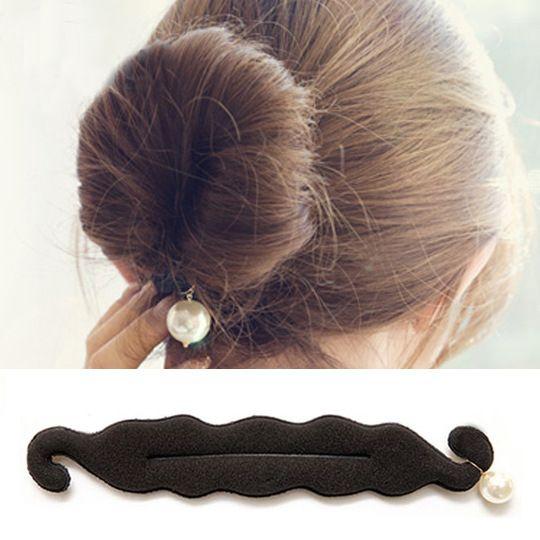 Estilo coreano nueva moda perla bollo Barrette Headwear accesorios para el cabello para herramientas de peinado
