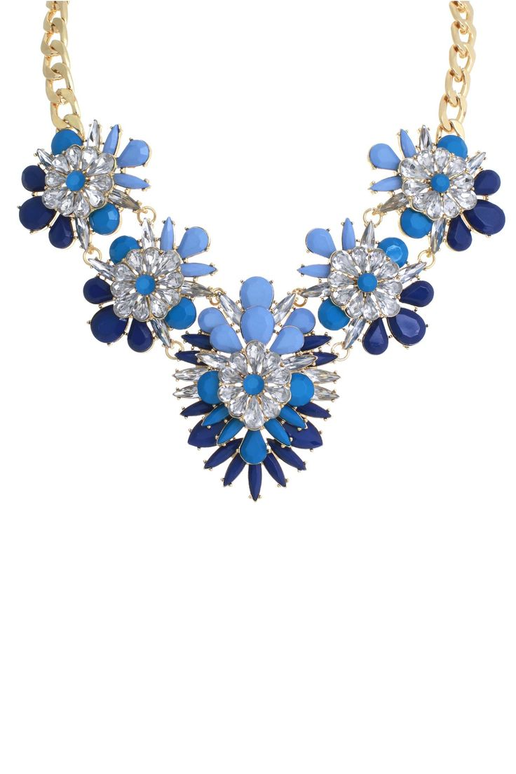 Marquise Blooming Clara Necklace