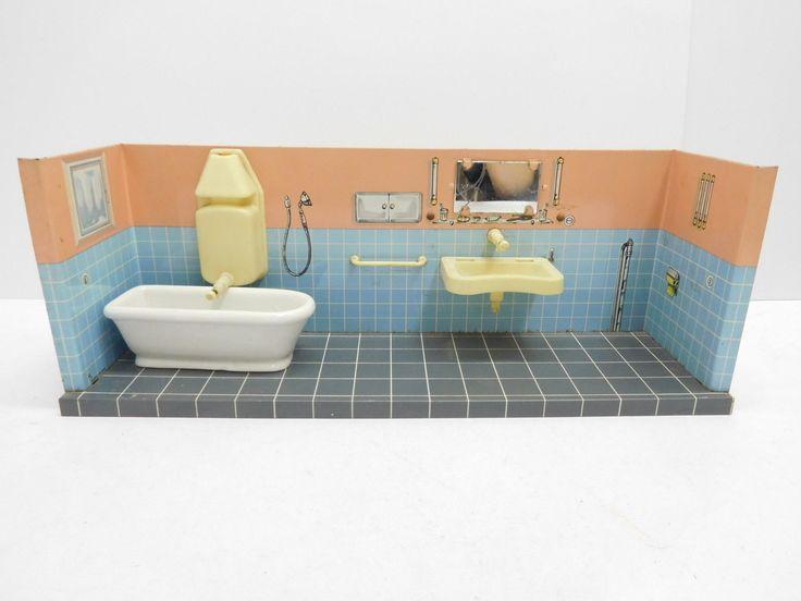 Bathroom In German 82 best puppenbadzimmer -miniature bathrooms images on pinterest