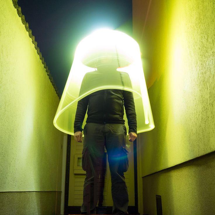Human Lampshade! :-) #lightpainting #light #lightsaber #olympus #omd #em1 #olympusomd #オリンパス #night #dark #color #yellow #torch #flashlight #lightart #langzeitbelichtung #instagood #instadaily #longexposure #lightjunkies #nightphotography #woman #silhouette #weownthenight #röhre #lightjunkies #taschenlampe / inspired by #ericpare