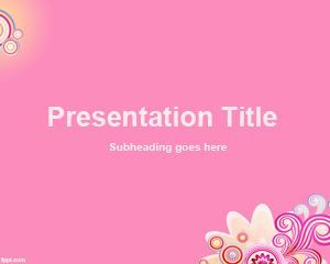 Rose Background for PowerPoint PPT Template
