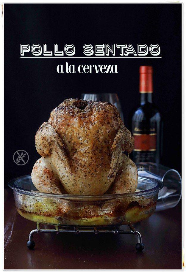 Pollo sentado a la cerveza {by Paula, Con las Zarpas en la Masa}