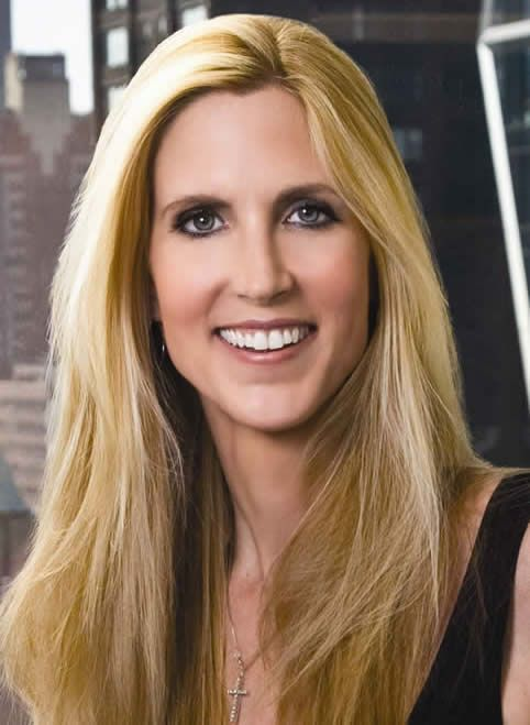 """If we're so cruel to minorities, why do they keep coming here?"" – Ann Coulter"