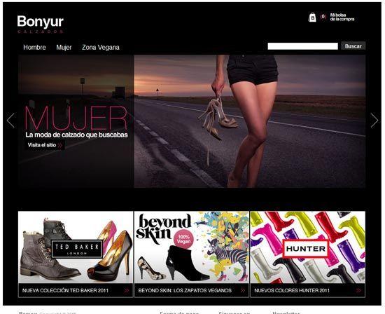 BONYUR - Tienda Online - Tienda de calzado online con un amplio catálogo de zapatos de hombre y mujer de prestigiosas marcas internacionales: Ted Baker London, beyond skin y botas de agua hunter. Comprar botas hunter online.