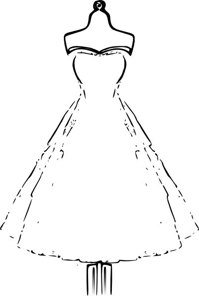 Free Printable Dress Coloring Pages And Pictures Vintage As Well Paper Dolls Clothes