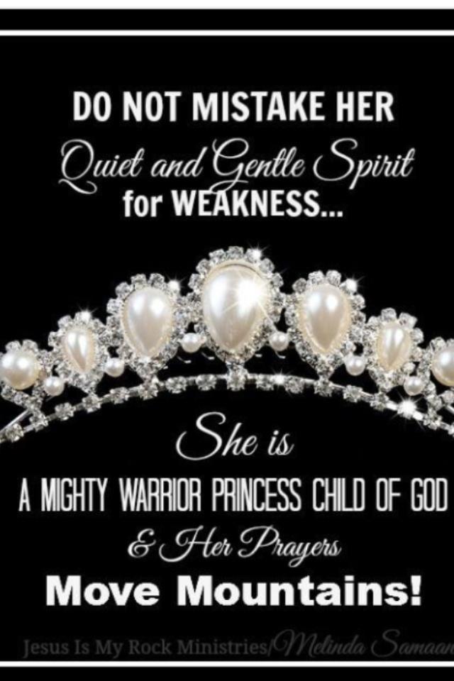 Daughter of a King ~ Prayer Warrior!