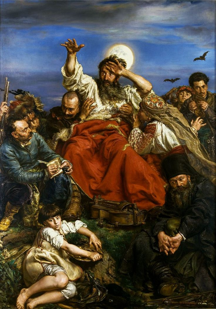 JAN MATEJKO * Poland 1838-1893 *  paintings of  historical Polish political and military events **