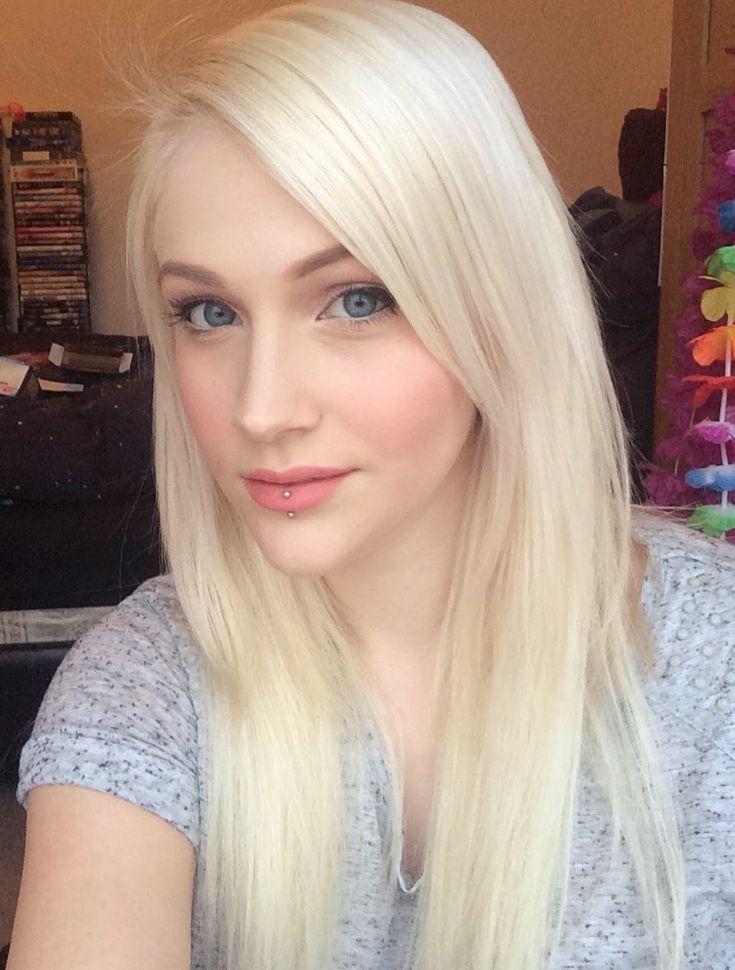 bleach blonde hair ideas