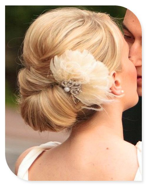 wedding hairs- SO pretty  Piper.  Very elegant and classy.
