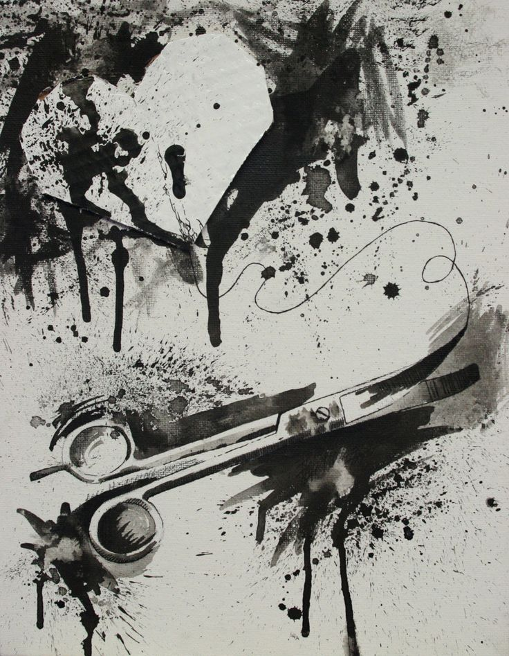 Happy Valentine's Day (Yeah, I said it). Jim Dine? by Huaman-Abstract.deviantart.com on @deviantART