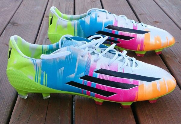 Adidas adiZero F50 Messi Edition – Up close  Visit http://www.soccermint.com for more Soccer Stuff