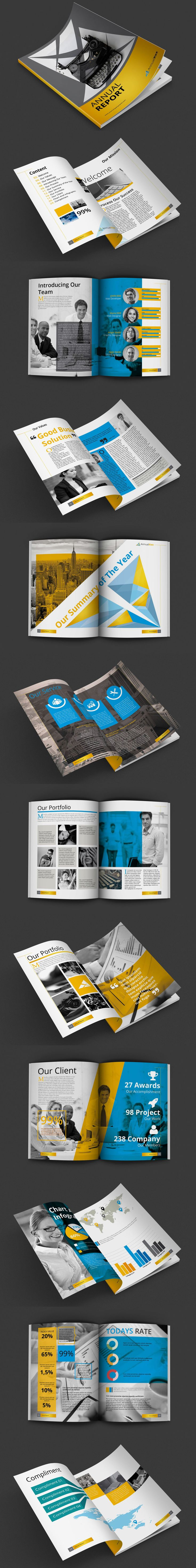 Annual Report Identity Pack - Template
