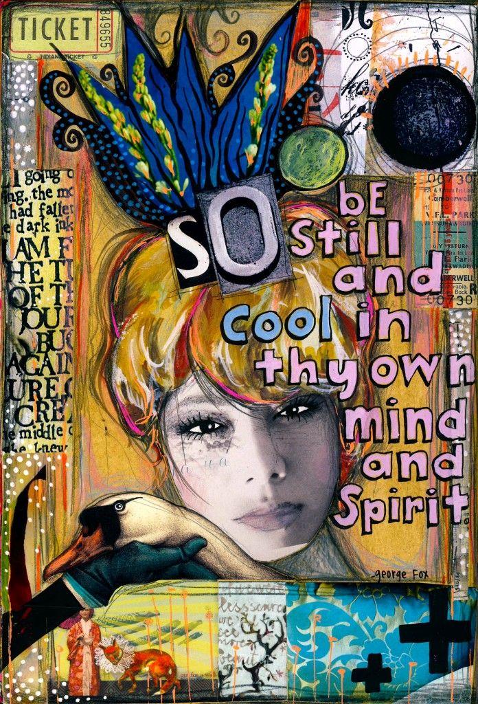 Art journal inspiration. By Teesha Moore