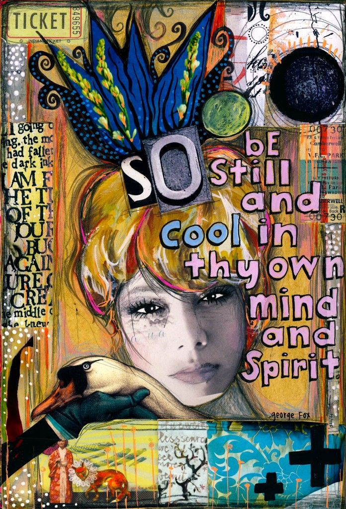 Art journal inspiration. By Teesha Moore