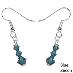 Perfect Stocking Stuffer for under $10!!   Available in 19 Colors-Swarovski Crystal Trinity Drop Earring#christmas stocking stuffer # stocking stuffer#stocking stuffer for women# jewelry stocking stuffer#gifts #gifts for women #gifts for teens#gifts for girls#gifts for mom# gifts for wife#gifts for sister