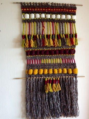 Telaresytapices .... Maria Elena Sotomayor : Etnias !!!... colores maravillosos!