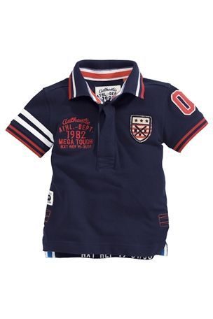 Badged Poloshirt  (3mths-6yrs) (NEXT)