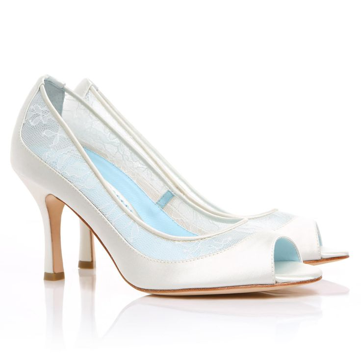 Best 25 White Wedding Shoes Ideas On Pinterest