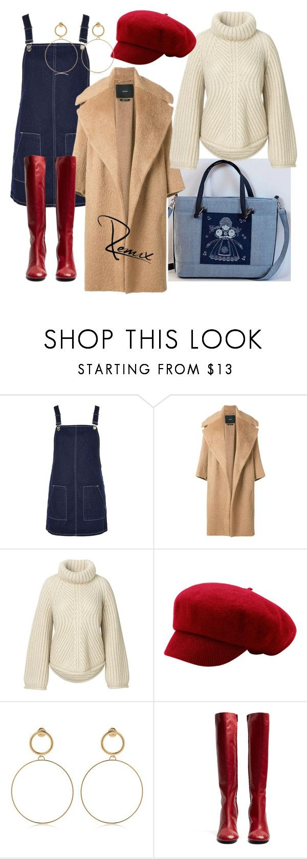 """Fall(ing) in love"" by aleva on Polyvore featuring Topshop, MaxMara, Maria Francesca Pepe and Joseph"