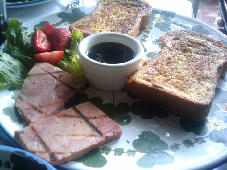 French Toast & Ham  The Ivy  Beverly Hills, CA  March 2011