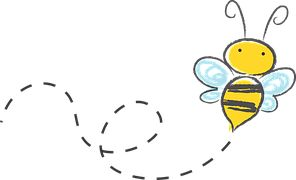 Bee, Cartoon, Bumble, Honey, Icon, Buzz