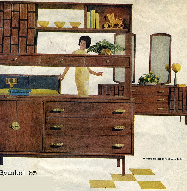 Basset Furniture Add For Bassett Furniture, Mid 50u0027s