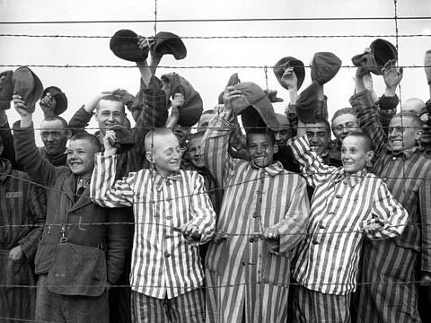 Liberation of the Dachau concentration camp, 1945