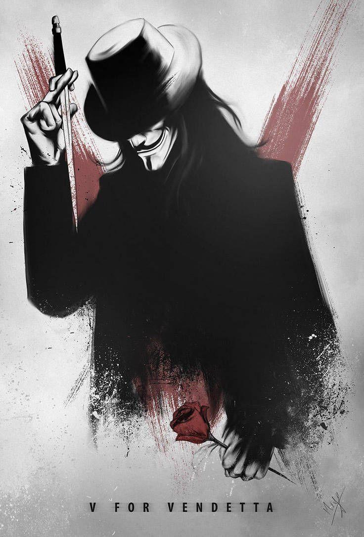 V By Niyoarts V For Vendetta Vendetta Movie Posters