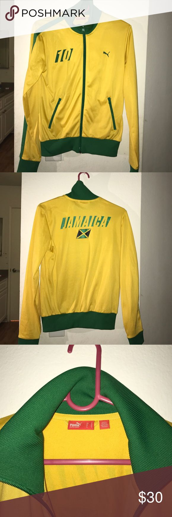 Rare PUMA Jamaica Track Jacket S Like new Condition! Size Small | 100%Polyester (IF PAY WITH PAYPAL - FREE SHIPPING ) Puma Jackets & Coats