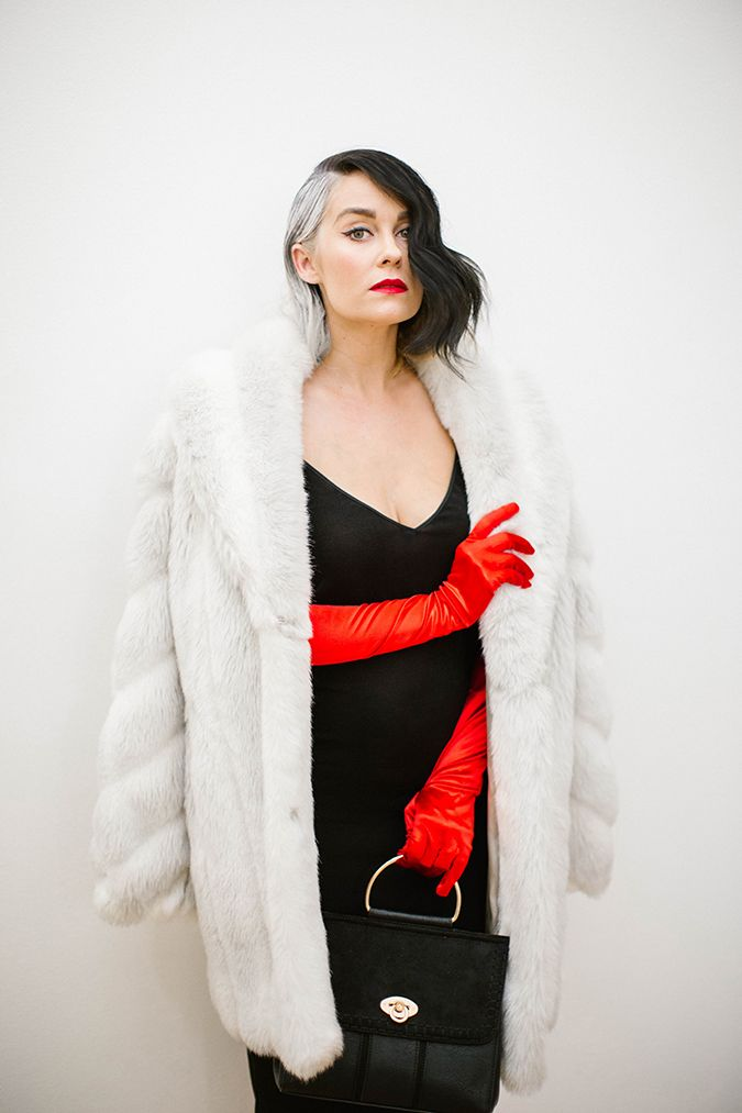 recreate Lauren Conrad's Cruella de Vil costume here on LaurenConrad.com