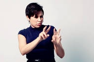 Science in Sign Language? There's a new website (ASL-STEM forum) dedicated to developing new signs for scientific words so that interpreters don't have to spell everything out.