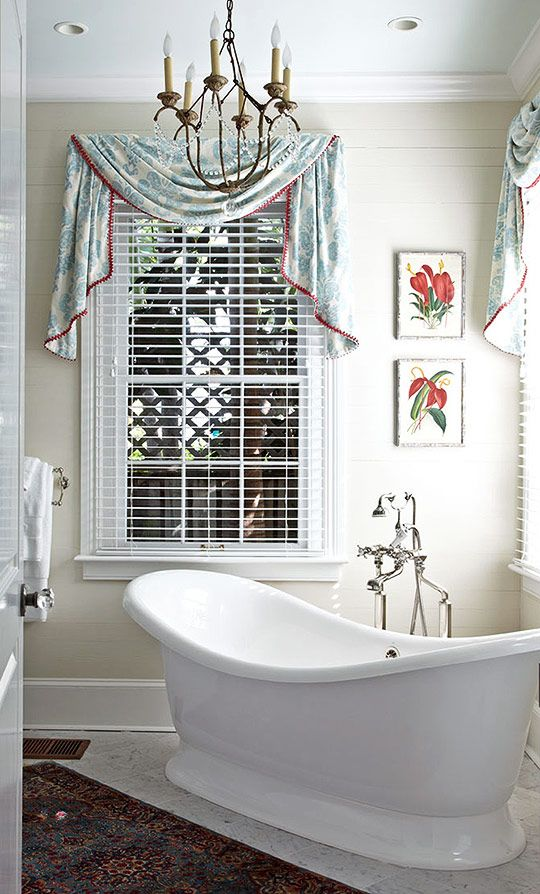 Key West Vacation HomeFreestanding Tubs, Keys West, West Vacations, Bathroom Ideas, Soak Tubs, Master Baths, Windows Treatments, Traditional Homes, Master Bathroom
