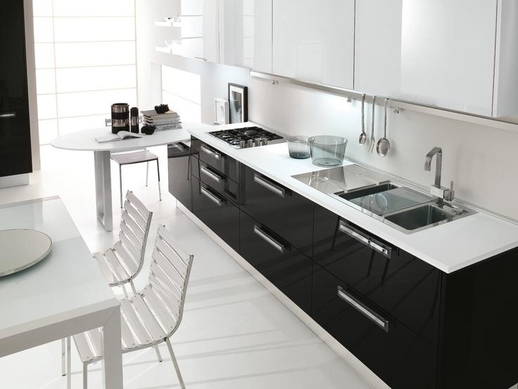 54 best cucine lube images on pinterest kitchen ideas kitchens and modern - Cucine lube costi ...
