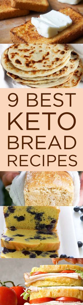 9 Best Keto Bread Recipes That'll Make You Forget Carbs