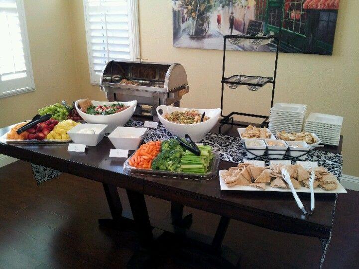 bridal shower food spread fruit salad mini sandwiches parties events pinterest bridal shower shower and bridal