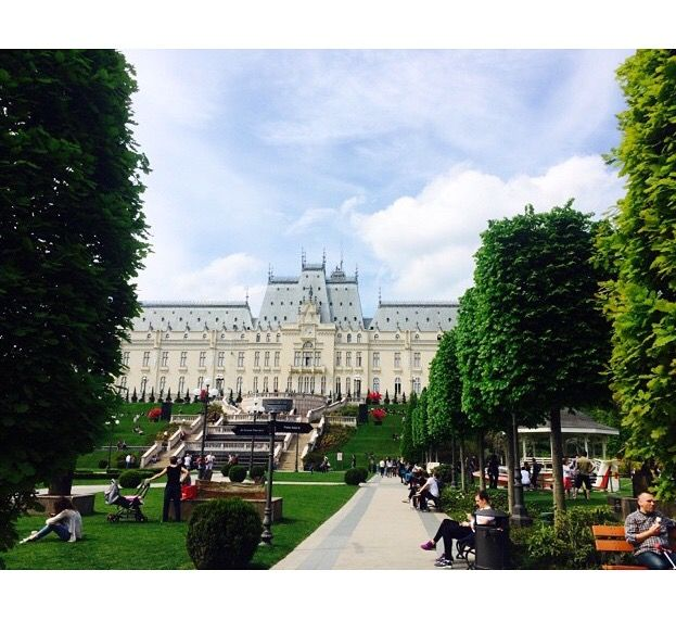 Iasi City- The Palace of Culture