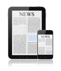 ACCESS THE NEWS ON YOUR DIGITAL DEVICE News On Modern Digital Devices