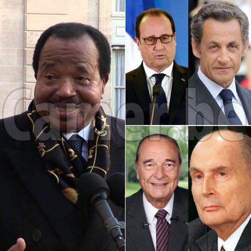 CAMEROUN :: L'histoire des visites des présidents français sous le Renouveau :: CAMEROON