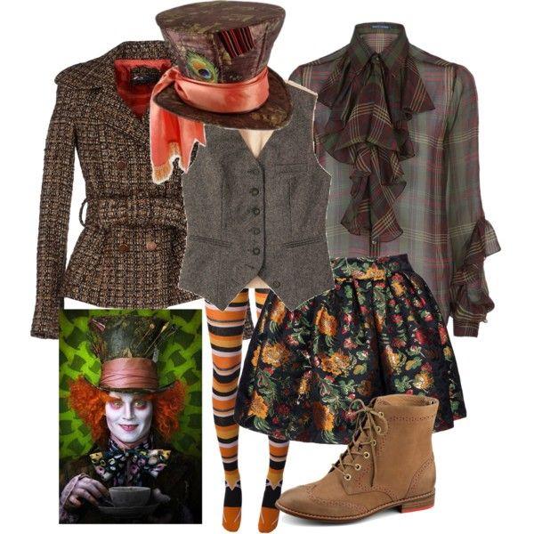 'Mad Hatter' Halloween Costume Idea