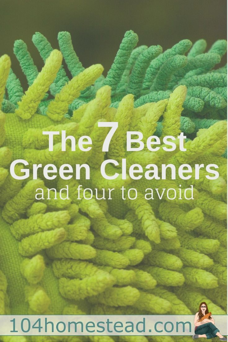 Are all green cleaners created equally? Heck no! There are seven formulas that shine (see what I did there?) and four that fall flat. See which ones I recommend you add to your eco-friendly cleaning arsenal.
