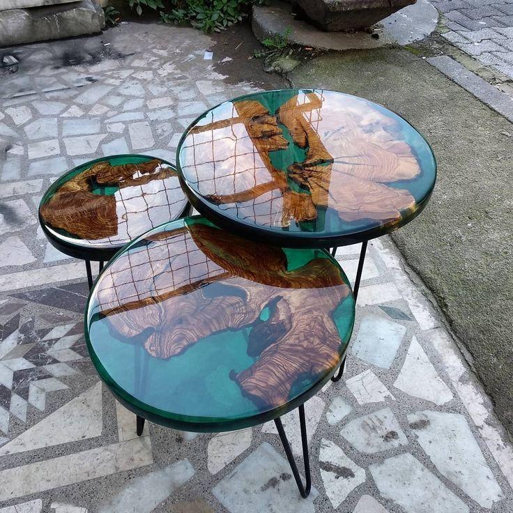 Zigon Epoxy Tisch von