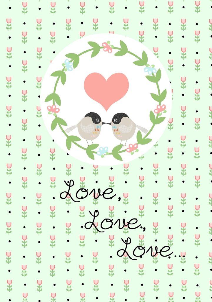 Love, love, love {printables} - Avec ses 10 p'tits doigts... Soyez DIY !