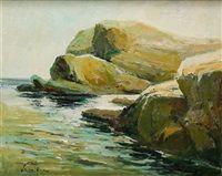 Paisaje costero by Jose Maria Lozano Moujan