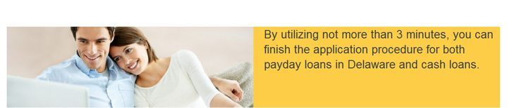 No credit check loans Delaware can be obtain by different money seekers who are