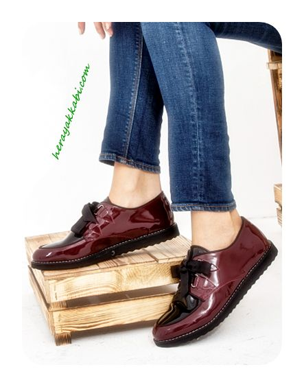 2015 Oxford Bayan Ayakkabı Modelleri