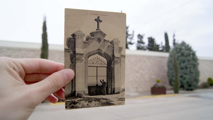 #Metafotografia de Juneda. (Portal del cementiri). Per @joanteixidopau