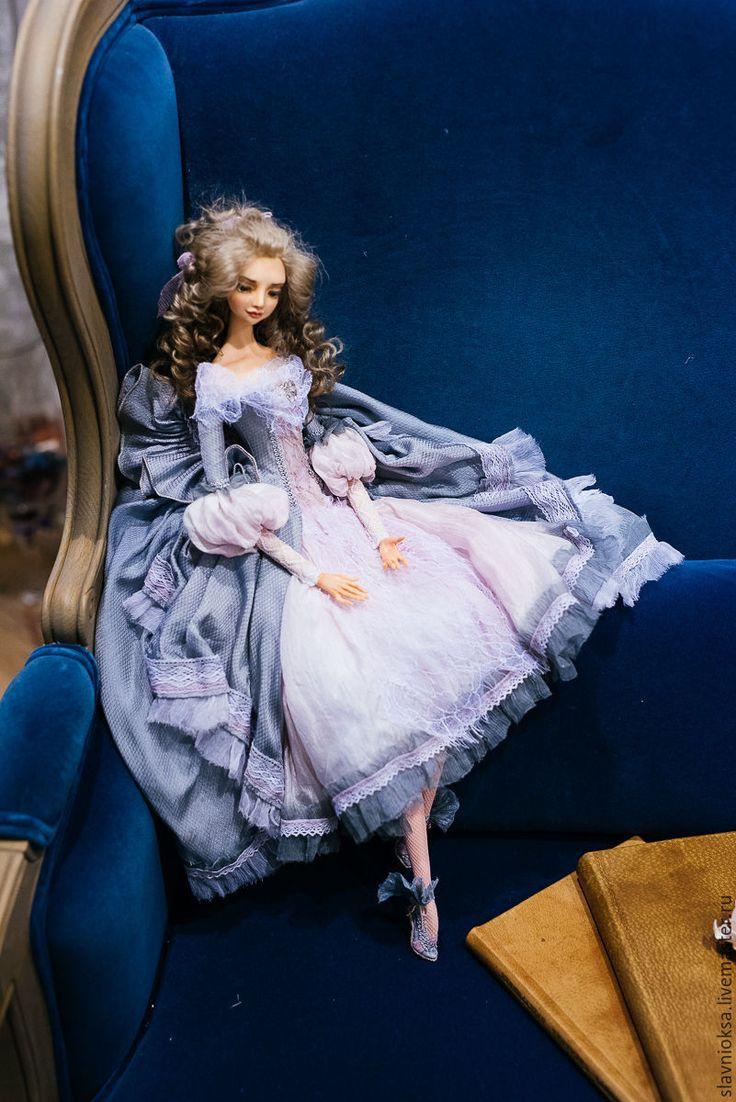 Купить ДЫХАНИЕ ЮНОСТИ- будуарная кукла - кукла ручной работы, авторская ручная работа