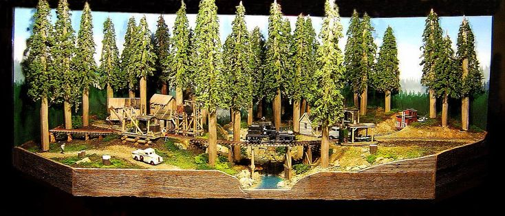 CANNIBAL CREEK: AN 'On30' DIORAMA THAT JUST HAPPENED ...