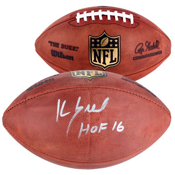 "Kevin Greene Pittsburgh Steelers Fanatics Authentic Autographed Duke Pro Football with ""HOF"" Inscription - $349.99"